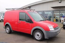 FORD TRANSIT CONNECT 1.8 T200 SWB 75 TDCI 1d 74 BHP - 360 SPIN ON WEBSI (red) 2007