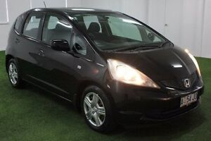 2008 Honda Jazz GD MY06 GLi Black 1 Speed Constant Variable Hatchback Moonah Glenorchy Area Preview