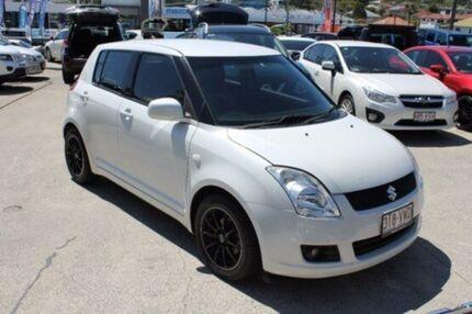 2009 Suzuki Swift RS415 S White 4 Speed Automatic Hatchback Mount Gravatt Brisbane South East Preview