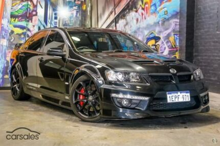 2009 Holden Special Vehicles Clubsport E Series 2 R8 Black 6 Speed Sports Automatic Sedan