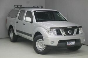2013 Nissan Navara D40 S7 MY12 RX 4x2 Silver 6 Speed Manual Utility Greensborough Banyule Area Preview