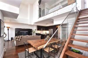 2 Bedroom + Den 2 Story Loft, With Private Roof Top Deck