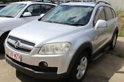2010 Holden Captiva CG MY10 CX AWD Silver 5 Speed Sports Automatic Wagon Underwood Logan Area Preview