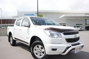 2013 Holden Colorado RG MY14 LT Crew Cab White 6 Speed Sports Automatic Utility Maroochydore Maroochydore Area Preview