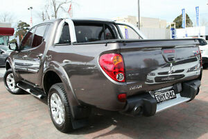 2013 Mitsubishi Triton MN MY14 Update GLX-R (4x4) Grey 5 Speed Manual 4x4 Dual Cab Utility Waitara Hornsby Area Preview