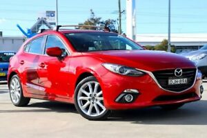 2016 Mazda 3 BM5438 SP25 SKYACTIV-Drive GT Soul Red 6 Speed Sports Automatic Hatchback Kirrawee Sutherland Area Preview