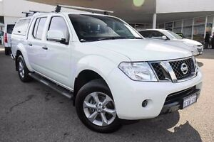 2013 Nissan Navara D40 S6 MY12 ST White 6 Speed Manual Utility Osborne Park Stirling Area Preview