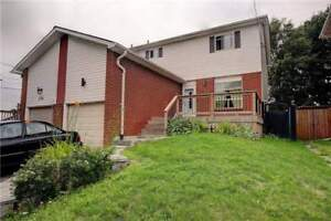 3+2 Bedrooms Semi Detached Home In Oshawa
