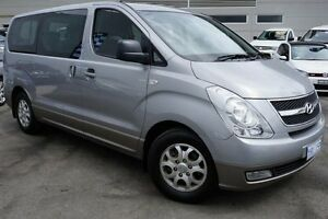 2012 Hyundai iMAX TQ-W MY13 Silver 5 Speed Automatic Wagon Pearce Woden Valley Preview