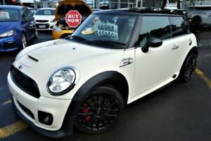 2010 Mini Hatch R56 John Cooper Works Cream 6 Speed Manual Hatchback Seaford Frankston Area Preview
