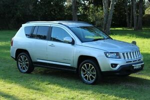 2013 Jeep Compass MK MY14 Limited (4x4) Bright Silver (metallic) 6 Speed Automatic Wagon Port Macquarie Port Macquarie City Preview