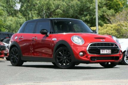 2015 Mini Hatch F55 Cooper S Blazing Red II 6 Speed Manual Hatchback Indooroopilly Brisbane South West Preview
