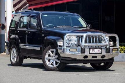2008 Jeep Cherokee KK MY08 Limited Black/Grey 4 Speed Automatic Wagon