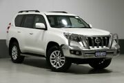 2013 Toyota Landcruiser Prado KDJ150R MY14 VX (4x4) White 5 Speed Sequential Auto Wagon Bentley Canning Area Preview