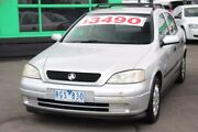 2001 Holden Astra TS City Silver 4 Speed Automatic Sedan Heatherton Kingston Area Preview