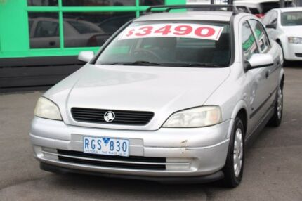 2001 Holden Astra TS City Silver 4 Speed Automatic Sedan