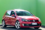 2011 Volkswagen Golf VI MY11 GTI DSG Red 6 Speed Sports Automatic Dual Clutch Hatchback Ringwood East Maroondah Area Preview