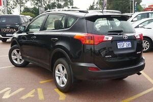 2013 Toyota RAV4 ZSA42R GX 2WD Black 7 Speed Constant Variable Wagon Westminster Stirling Area Preview