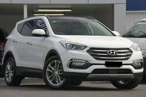 2016 Hyundai Santa Fe DM Series II (DM3) Highlander CRDi (4x4) White 6 Speed Automatic Wagon Wolli Creek Rockdale Area Preview