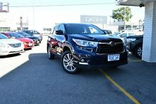 2015 Toyota Kluger GSU55R Grande AWD Dynamic Blue 6 Speed Sports Automatic Wagon Claremont Nedlands Area Preview
