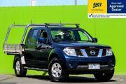 2010 Nissan Navara D40 ST Blue Automatic Utility Ringwood East Maroondah Area Preview
