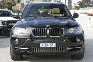 2009 BMW X5 E70 MY09 xDrive30d Steptronic Black 6 Speed Sports Automatic Wagon North Melbourne Melbourne City Preview
