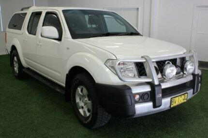 2010 Nissan Navara  White Automatic Utility Moonah Glenorchy Area Preview