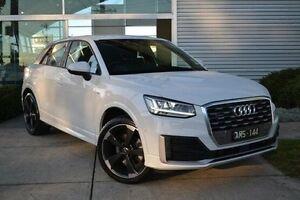 2016 Audi Q2 GA MY17 Sport S tronic quattro White 7 Speed Sports Automatic Dual Clutch Wagon Burwood Whitehorse Area Preview