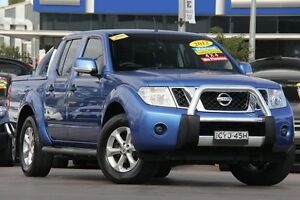 2012 Nissan Navara D40 MY12 ST (4x4) Blue 6 Speed Manual Dual Cab Pick-up Penrith Penrith Area Preview