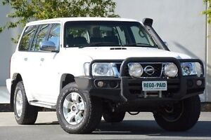 2012 Nissan Patrol GU 7 MY10 ST White 4 Speed Automatic Wagon Robina Gold Coast South Preview