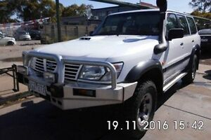 2000 Nissan Patrol GU II ST White 5 Speed Manual Wagon Fawkner Moreland Area Preview