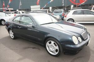 2001 Mercedes-Benz CLK430 C208 Elegance Blue 5 Speed Automatic Coupe Kingsville Maribyrnong Area Preview