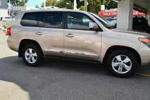 2015 Toyota Landcruiser VDJ200R Sahara Vintage Gold 6 Speed Sports Automatic Wagon Claremont Nedlands Area Preview