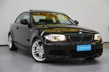 2012 BMW 135I E82 LCI MY0312 M Sport D-CT Black 7 Speed Sports Automatic Dual Clutch Coupe