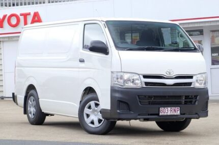 2011 Toyota Hiace KDH201R MY11 LWB White 4 Speed Automatic Van