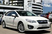 2014 Subaru Impreza G4 MY14 2.0i-L Lineartronic AWD White 6 Speed Constant Variable Hatchback Liverpool Liverpool Area Preview