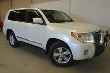 2013 Toyota Landcruiser VDJ200R MY12 Sahara White 6 Speed Sports Automatic Wagon Silver Sands Mandurah Area Preview