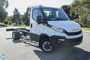 2016 Iveco Daily MY14 45C17 SWB (WB3750) White 8 Speed Automatic Cab Chassis Rockingham Rockingham Area Preview