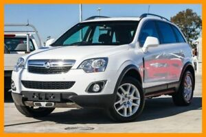 2013 Holden Captiva CG MY13 5 LT White 6 Speed Sports Automatic Wagon Aspley Brisbane North East Preview