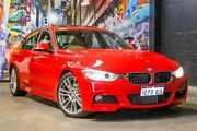 2013 BMW 320i F30 MY0813 Red 8 Speed Sports Automatic Sedan Perth Perth City Area Preview