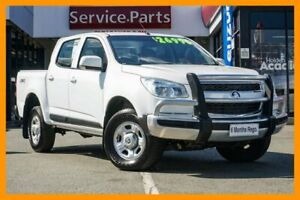 2015 Holden Colorado RG MY16 LS Crew Cab Heron White 6 Speed Sports Automatic Utility Beaudesert Ipswich South Preview
