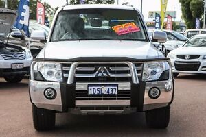 2007 Mitsubishi Pajero NS Exceed Silver 5 Speed Sports Automatic Wagon Wilson Canning Area Preview
