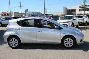 2014 Toyota Prius c Silver Constant Variable Hatchback Welshpool Canning Area Preview
