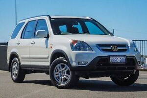 2002 Honda CR-V MY02 (4x4) Sport White 4 Speed Automatic Wagon Wangara Wanneroo Area Preview