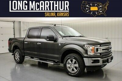 2020 Ford F-150 XLT Chrome Appearance 4x4 Crew MSRP $50000 3.73 Electronic Locking Axle Navigation Class IV Trailer Hitch Sirius XM