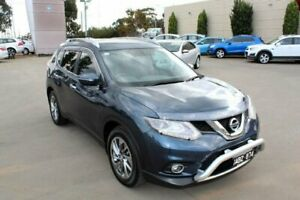 2014 Nissan X-Trail T32 TI (4x4) Blue Continuous Variable Wagon Werribee Wyndham Area Preview