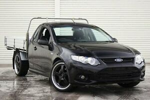 2013 Ford Falcon FG MkII XR6 Super Cab EcoLPi Black 6 Speed Sports Automatic Cab Chassis Seaford Frankston Area Preview