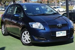 2007 Toyota Corolla ZZE122R 5Y Ascent Blue 4 Speed Automatic Hatchback Berwick Casey Area Preview