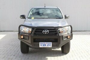 2015 Toyota Hilux GUN125R Workmate Double Cab Silver 6 Speed Sports Automatic Utility Embleton Bayswater Area Preview