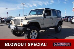 2011 Jeep Wrangler Unlimited 4X4 SAHARA UNLIMITED Navigation (GP